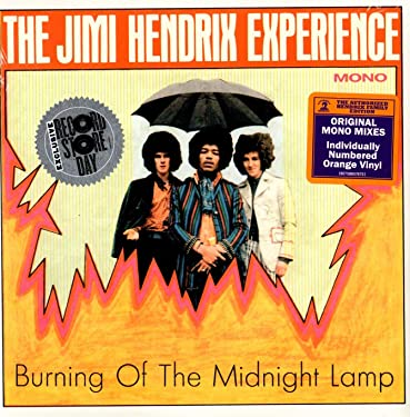 """The Jimi Hendrix Experience: Burning of the Midnight Lamp (Mono, Colored Vinyl) Vinyl 7"""" (Record Store Day)"""