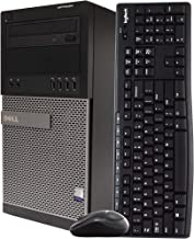 $399 » Dell Gaming Desktop Computer Tower PC, Intel Quad Core i5 3.2GHz, 16GB RAM, 128GB SSD + 500GB Hard Drive, Windows 10 Home,...