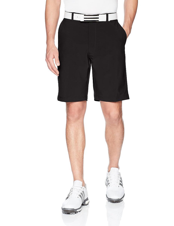 Jack Nicklaus Men's Flat Front Solid Active Flex Short with Media Pocket
