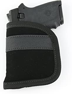 Ultimate Pocket Holster | Ultra Thin for Comfortable Concealed Carry | Fits Pistols and Revolvers from Glock Ruger Taurus Smith and Wesson Kimber Beretta and More