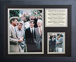 """Legends Never Die """"The Kennedy Brothers Framed Photo Collage, 11 x 14-Inch"""