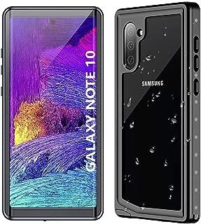 Samsung Galaxy Note 10 Waterproof Case【2019】, POTALUX Note 10 Case Built in Screen Protector 360° Full Body Protective Shockproof Dirtproof IP68 Underwater Waterproof Case for Samsung Note 10(6.3inch)