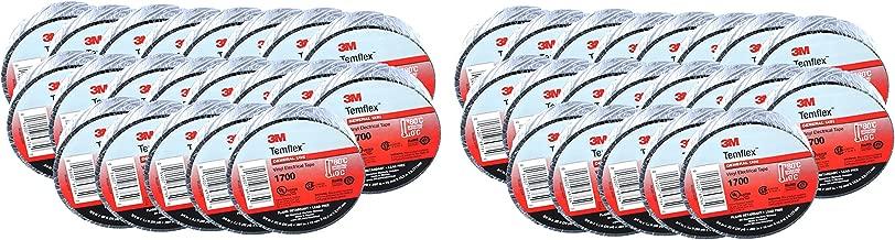 QTY50 3M Temflex 1700 Black 3/4