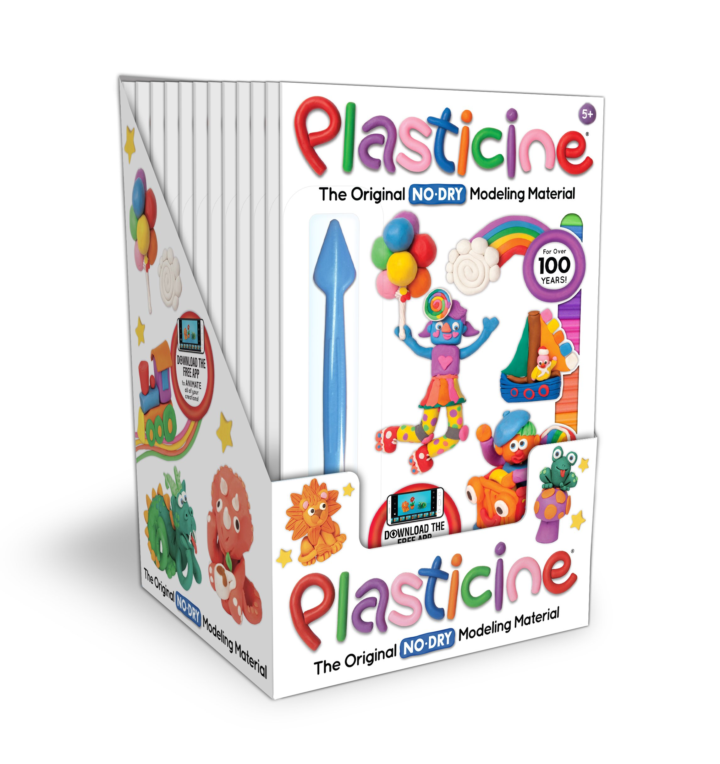 Plasticine 6 Color Rainbow Pack Kahootz