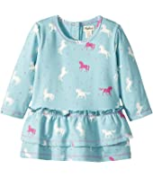 Hatley Kids - Dancing Unicorns Mini Layered Dress (Infant)