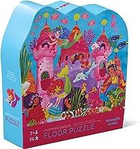 Crocodile Creek - Mermaid Palace - 36 Piece Jigsaw Floor Puzzle with Heavy-Duty Box for Storage, Large 20