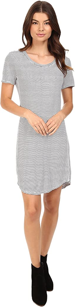 Codette Mini Rib T-Shirt Dress