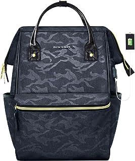 KROSER Laptop Backpack School Bag Water Repellent Wide Open Travel Backpack 15.6'' Camouflage Grey-15.6'' SKK707MCG
