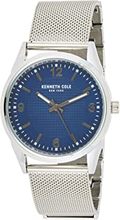 Kenneth Cole Men's Quartz Watch, Analog Display and Stainless Steel Strap 10030779