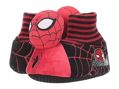 Favorite Characters Spidermantm Headed Slipper SPF256 (Toddler/Little Kid) (Red) Boy