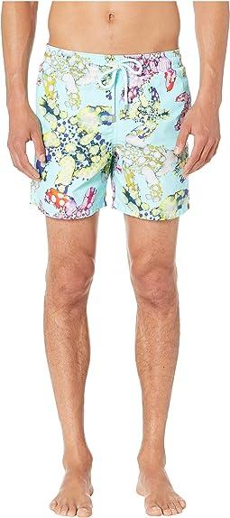 8cc2921ebe Vilebrequin. Moorea Over the Rainbow Turtles Swim Trunks. $260.00. Luxury.  Aqua