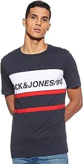 Jack & Jones Men's 12147429 Crew Neck Short Sleeve