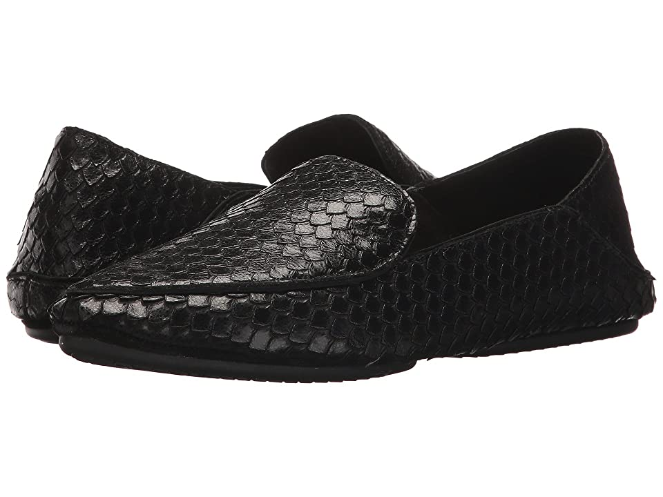 Yosi Samra Vivian Loafer (Black) Women's Slip on Shoes