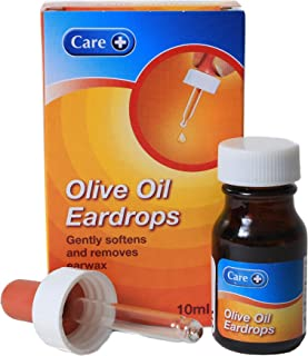 Olive Oil Ear Drops & Dropper | 10ml
