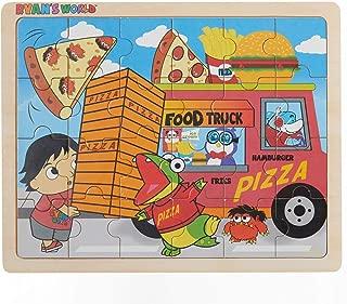 Ryan's World - Food Truck - 24 Piece Wooden Jigsaw Puzzle