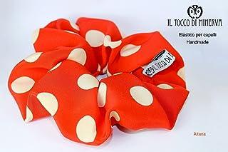 Elastico in seta per capelli Aitana fatto a mano Made in Italy - Handmade - Regali donna - Artigianale - idee regali origi...