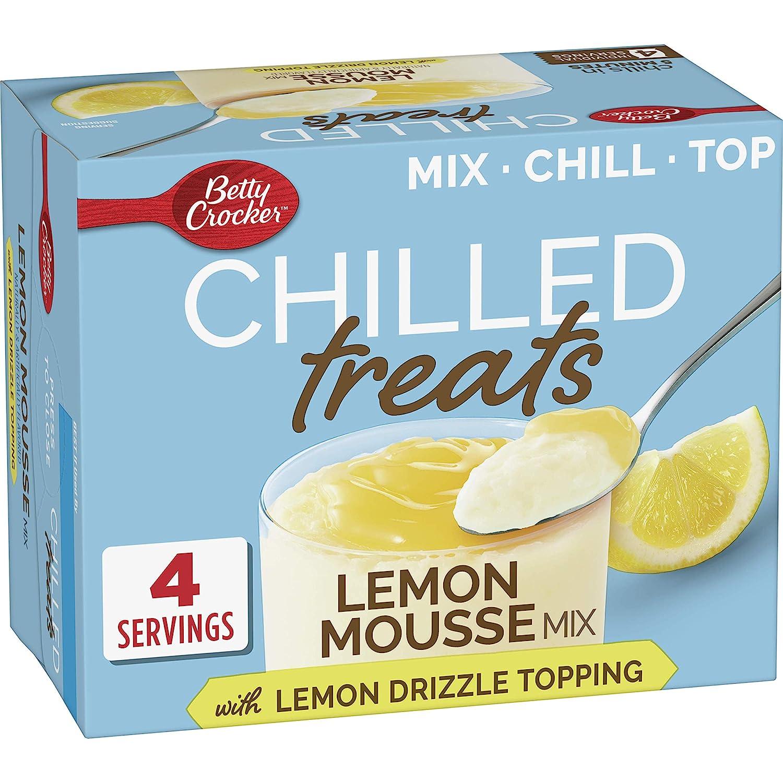 Betty Crocker Lemon Mousse Mix, 8.9 oz (Pack of 6)