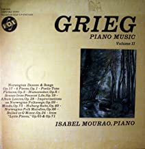 Grieg Piano Music Volume I SOnata in E Minor Op.7, Norwegian Peasant Dances Op. 72, From Lyric Pieces OP. 12. Op. 38. Op. 43, Op. 47. Op. 68, Op. 54. Op. 57. Op. 62 Box Set
