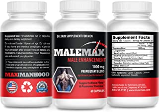 Male Max Advantage Pro Male Enlargement Pills- Testosterone Boosting Male Enhancement Formula- Add 3 Plus Inches Fast- Mal...