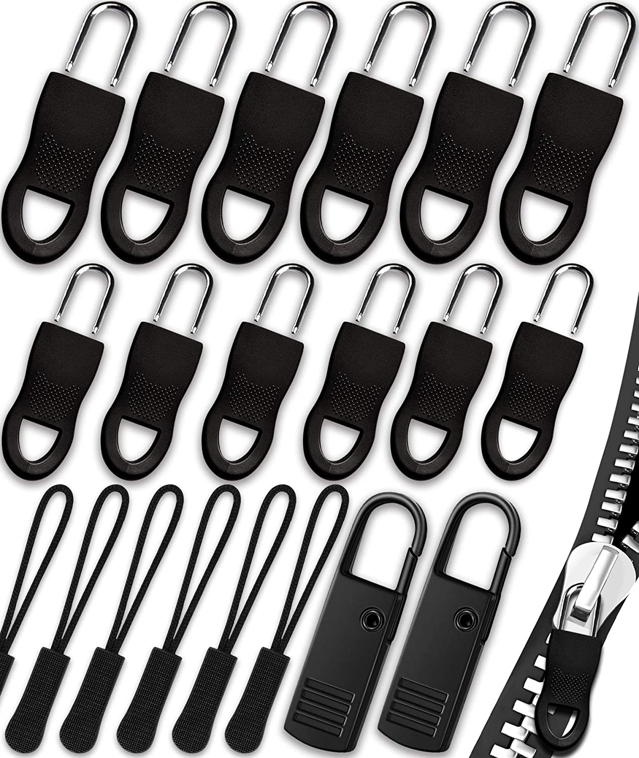 Zipper Pull Universal Replacement Kit Zi Removable Sale SALE% OFF Mail order