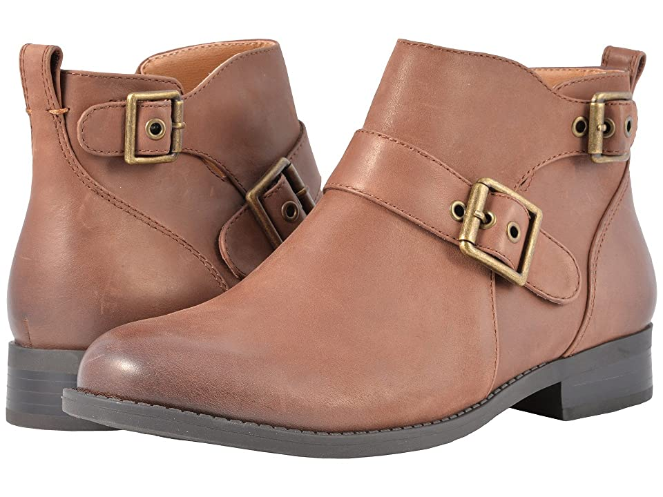 VIONIC Country Logan Ankle Boots (Dark Brown) Women