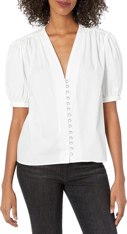 The Kooples Women's Jacquard Printed Button-Down Shirt
