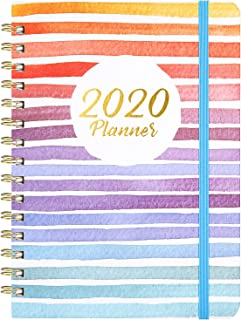 "2020 Planner – Weekly & Monthly Planner with Tabs, 6.3"" x 8.4"",.."