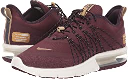 promo code 67938 0ad49 Nike. Air Max Sequent 4.  60.00MSRP   100.00. 4Rated 4 stars. Burgundy  Crush Metallic Gold