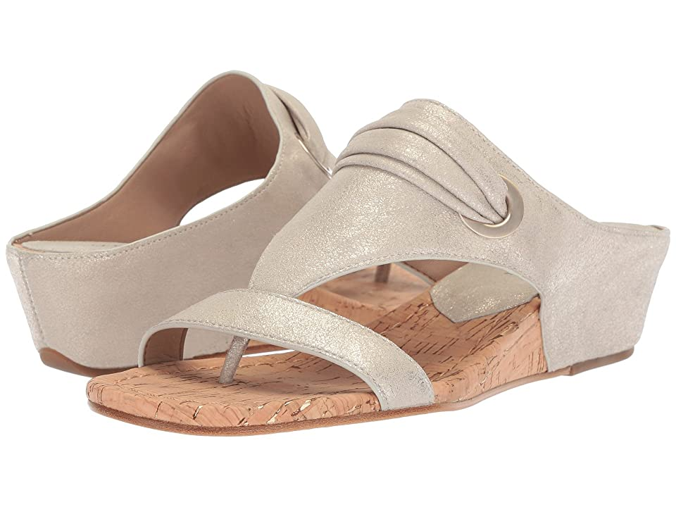 Donald J Pliner Dionne (Platino) Women's Wedge Shoes, Gold
