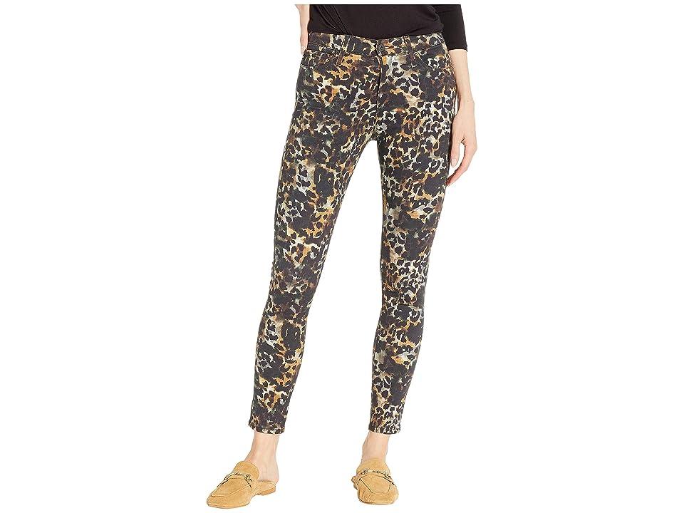 Image of AG Adriano Goldschmied Farrah Skinny Ankle in Untamed Camo Dark Ivy (Untamed Camo Dark Ivy) Women's Jeans