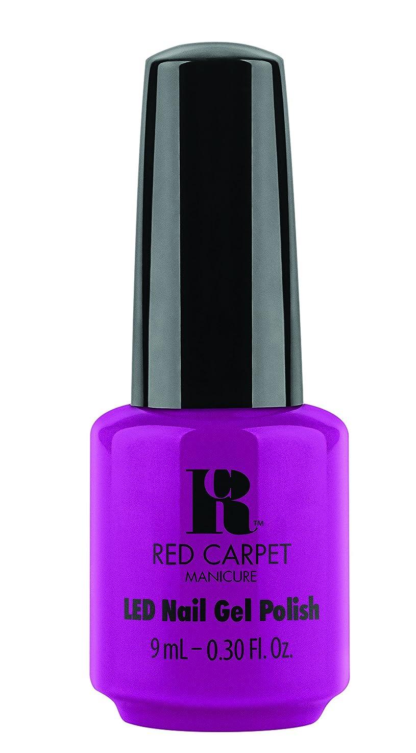 程度バッチナチュラRed Carpet Manicure - LED Nail Gel Polish - Wild Child - 0.3oz / 9ml