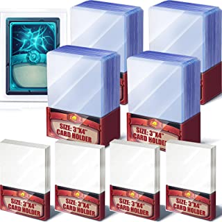 Hard Card Sleeves Loader Trading Card Holder Clear Protective Sleeves Holder for Baseball Card, Sports Cards, Trading Car...