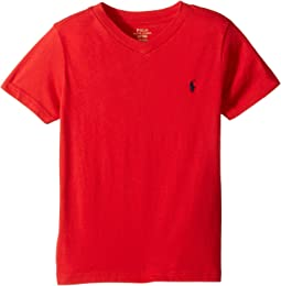 Polo Ralph Lauren Kids - Cotton Jersey V-Neck T-Shirt (Toddler)