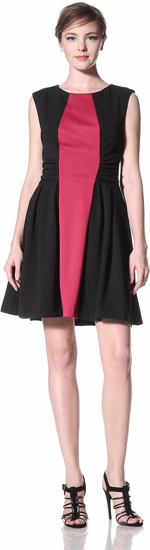 Eva Franco Women's Audrey Colorblock Dress