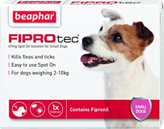 beaphar Fleas and Ticks Spot on Solution for Small Dogs