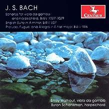 Bach, J.S.: Viola Da Gamba Sonatas, Bwv 1027-1029 / English Suite No. 2 / Prelude, Fugue and Allegro in E-Flat Major