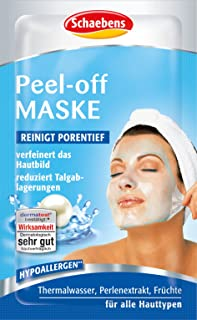 Schaebens Peel-Off masker, verpakking van 15 stuks (15 x 15 ml)
