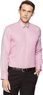 Peter England Men's Solid Slim Fit Formal Shirt