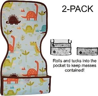 Goo-Goo Baby 2 Pack Miracle Burp Pad & Change Mat in Jurassic Trail