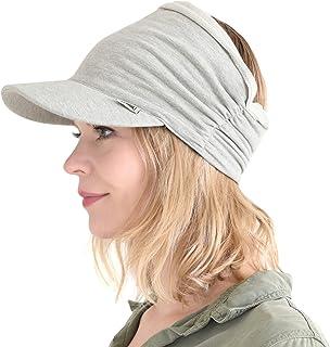 Womens Sports Sun Visor Hat - SPF UV Protection Japanese Design Mens Headband Peak Cap for Men & Women Tennis Jogging Runn...