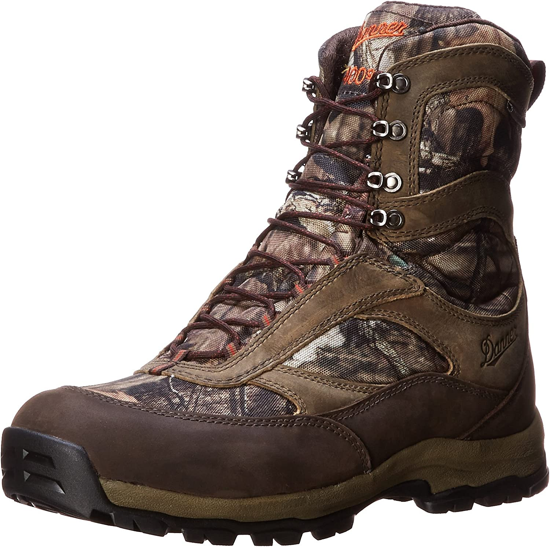 Danner Men's High Ground 8 Mossy Oak 400G Hiking Boot