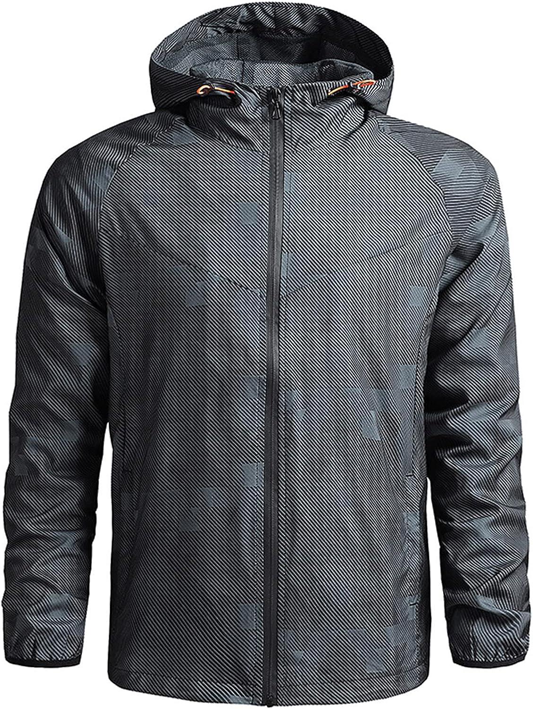 FORUU Windbreaker Jackets For Men 2021 Casual Winter Windproof Coats Fashion Waterproof Jacket Mens Lightweight Jacket