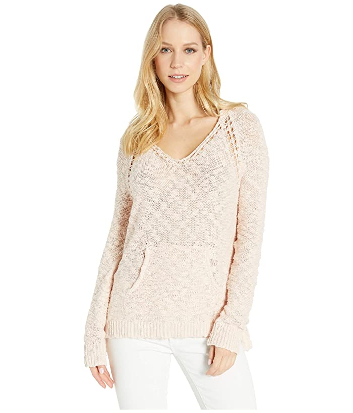 Roxy Airport Vibes Hooded Sweater (Cloud Pink) Women