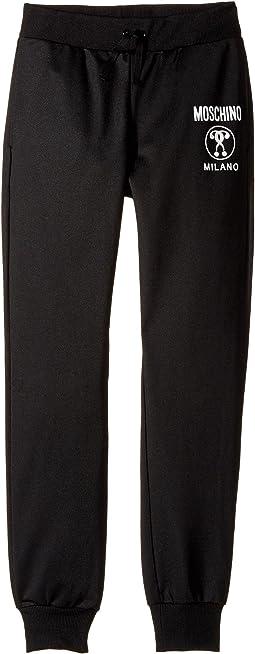 Moschino Kids - Sweatpants w/ Logo on Front (Big Kids)