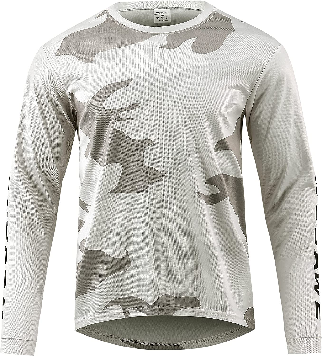 Easy-to-use Doorslay Cycling Men's Fixed price for sale Jersey Men MTB Sleeve Racing Long