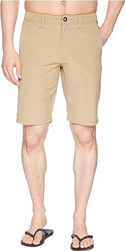 """Frickin Surf N' Turf Dry 21"""" Hybrid Shorts"""