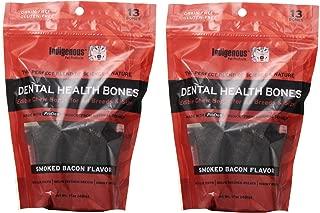 Indigenous Dental Health Bones Smoked Bacon Flavor 17oz (2 Pack)