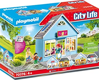 Playmobil 70376 City Life My Little Town My Hair Salon, for Children Ages 4+