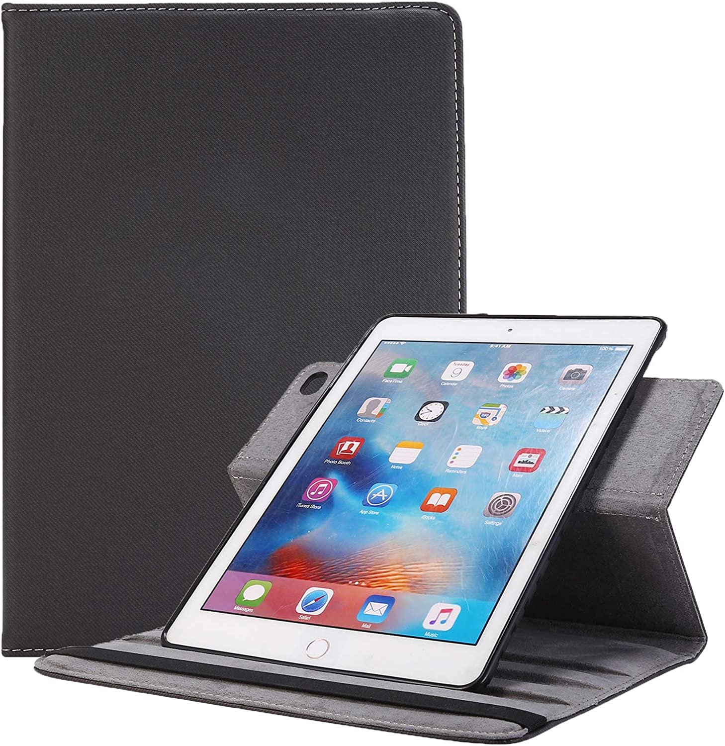 Wholesale New iPad 9.7 Directly managed store 2018 2017 Air C Stand - Case Rotating AiSMei