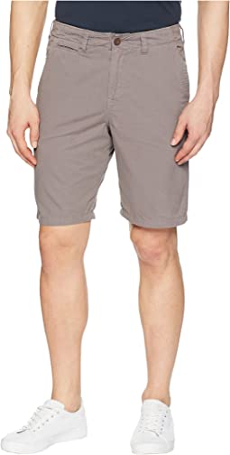True Grit - Heritage Chino Shorts Hand Treated Washed with Stitch Detail